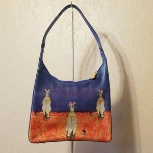 Icon LA Jorge Sicre Cat Handbag NWOT
